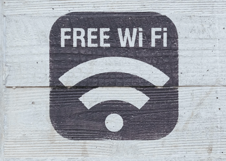 get wifi when camping