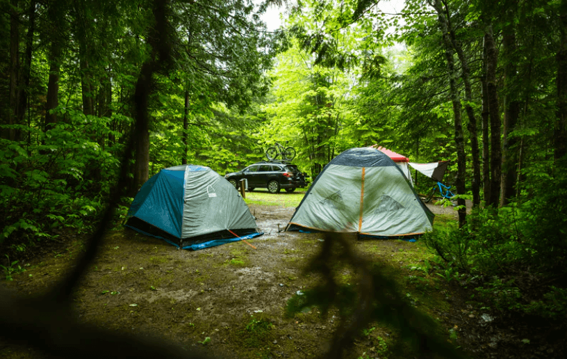 walk up campgrounds