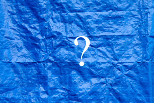 Why Are Tarps Blue, and What 5 Other Colors Mean