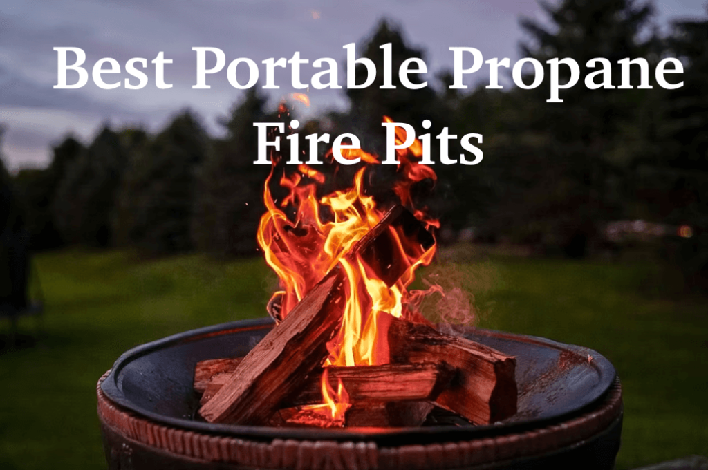 best portable propane fire pits